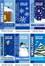 Winter Avenue Banners