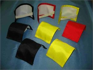 color armband with nylon backing