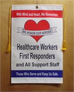 Corona Virus Healthcare and First Responders Service Banner