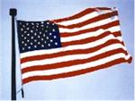 United States 2'X3'  Nylon Flag - Outdoor